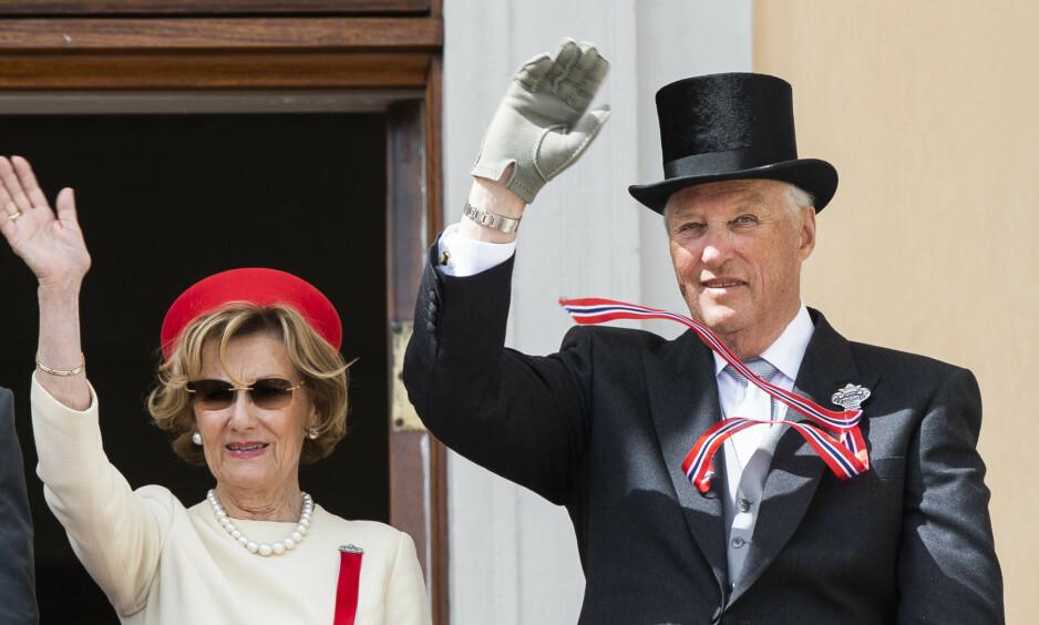 ALTERNATIV FEIRING: Tidligere denne uka ble det kjent at barnetoget i Oslo er avlyst. Dette fører til at også de kongelige må ha en alternativ 17. mai - feiring. Foto: Berit Roald / NTB scanpix
