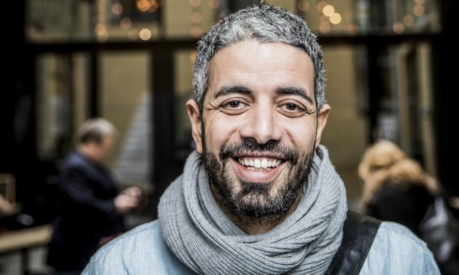 ETTERLYSER ALTERNATIV: Yousef Hadaoui mener NRK har et ansvar som allmennkringkaster å nå ut til innvandrerbefolkningen under coronakrisa. Foto: Christian Roth Christensen/Dagbladet