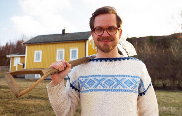 VEGANER: Eivind er programmets første veganer, og håper å finne en likesinnet. Foto: Espen Glomsvoll / TV 2