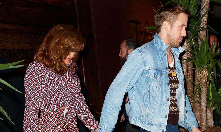 VERNER OM PRIVATLIVET: Eva Mendes og Ryan Gosling er sjeldent å se sammen i offentligheten. Heller ikke på sosiale medier har de satt særlig spor av hverandre. Her avbildet i 2017. Foto: NTB scanpix