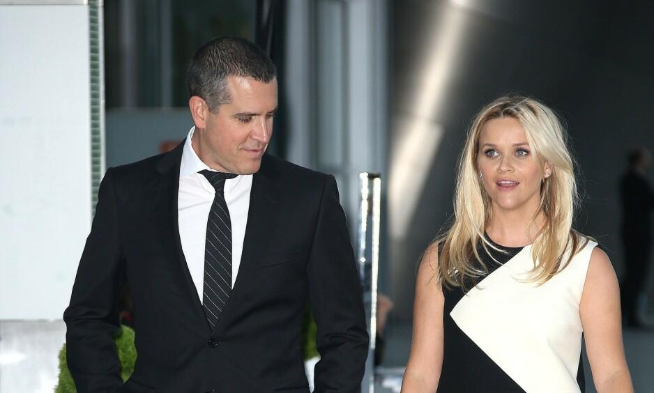 <strong>ÆRLIG:</strong> Reese Witherspoon snakker ærlig ut om en hendelse for syv år siden, der hun og mannen ble arrestert av politiet. Foto: NTB Scanpix