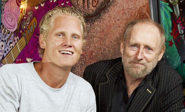 KOMPISER: Vinni og Halvdan Sivertsen ble gode venner etter «Hver gang vi møtes». Foto: Henning Jensen / Se og Hør