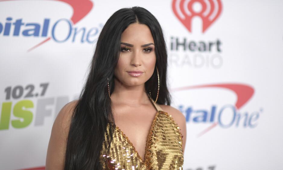 TOK AFFÆRE: Demi Lovato har lært seg å sette grenser. Foto: NTB Scanpix
