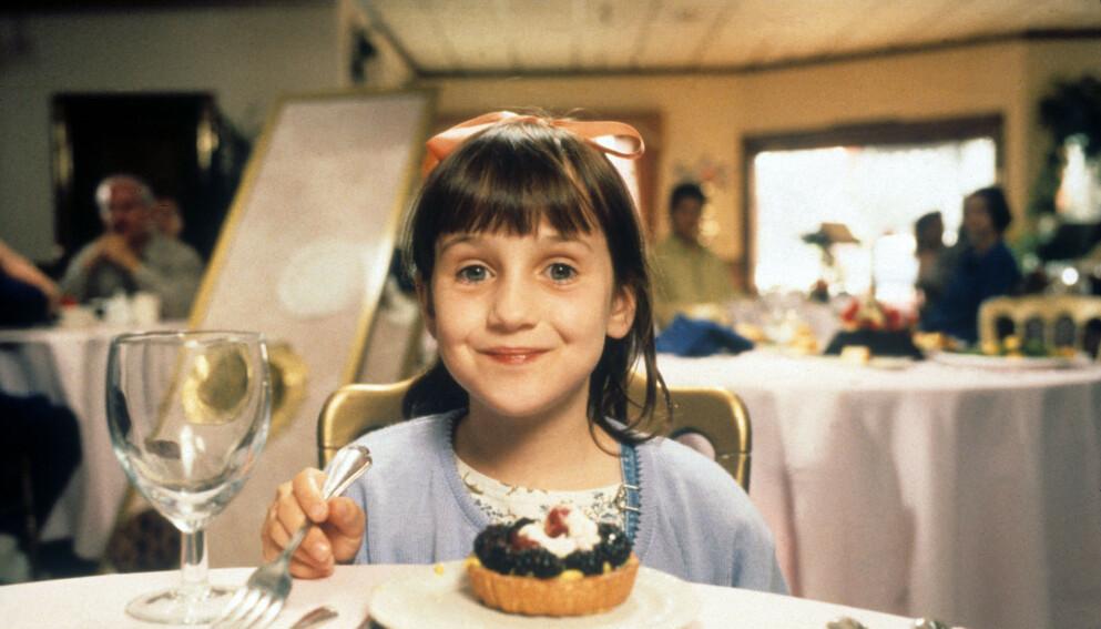 BLE VERDENSSTJERNE: Mara Wilson spilte i filmen «Matilda» i 1996, og snakker nå ut om hvordan hun opplevde mediestormen som bitte liten. Foto: Shutterstock Editorial / NTB