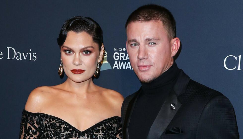 AV OG PÅ: Jessie J og Channing Tatum har ikke hatt et knirkefritt forhold. Foto: Xavier Collin/Image Press Agency/Splash News/NTB