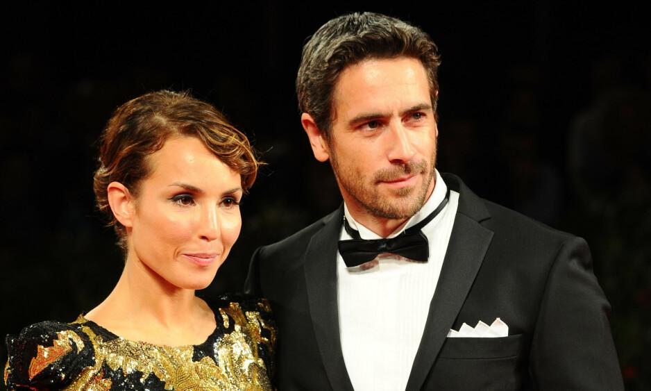 STJERNEPAR: Noomi og Ola Rapace tok ut skilsmisse i 2010. Nå snakker Ola ut om den vanskelige tida etter at bruddet var et faktum. Foto: NTB Scanpix