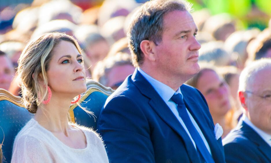EKTEPAKT: Prinsesse Madeleine og Chris O'Neill signerte en ekteskapskontrakt da de giftet seg i 2013, i likhet med de resterende parene i den svenske kongefamilien. Foto: NTB Scanpix
