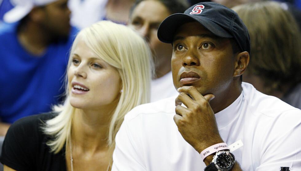 UTRO: Tiger Woods innrømmet å ha vært utro med over 100 kvinner i løpet av ekteskapet med svenske Nordegren. Foto: NTB Scanpix