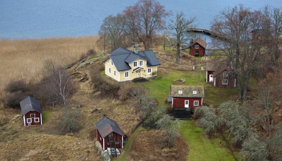 SVERIGE: Woods' ekskone har siden 2009 eid denne eiendommen i Sverige. Foto: NTB Scanpix