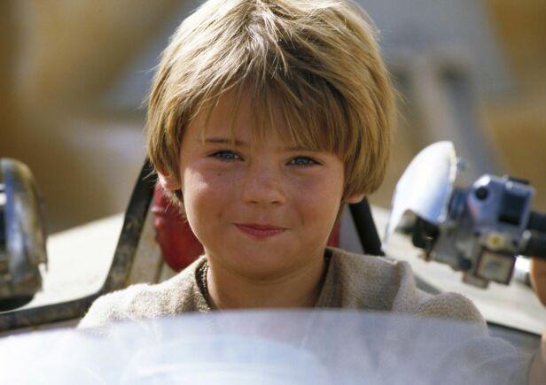 SØTNOS: Her er Jake Lloyd avbildet som tiåring i filmen «Star Wars Episode I: The Phantom Menace». Foto: NTB Scanpix