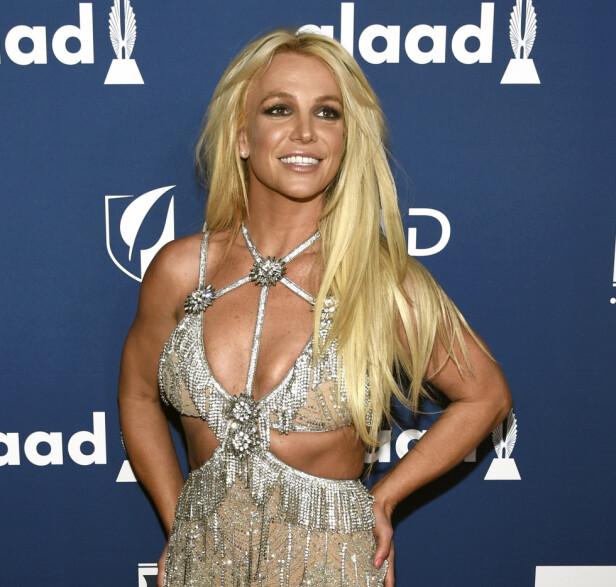 TAKKNEMLIG: Britney Spears er svært takknemlig for at ingen kom til skade. Foto: NTB Scanpix