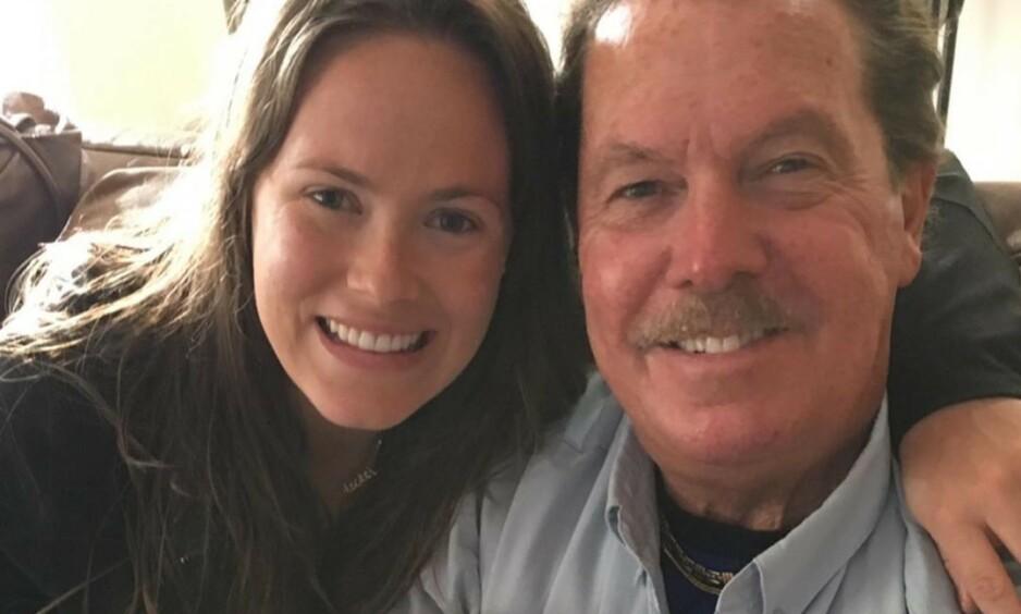 I SORG: «Real Housewives»-profil Kara Keough mistet for bare noen uker siden sin nyfødte sønn. Nå er også faren hennes død. Foto: Instagram / Kara Bosworth