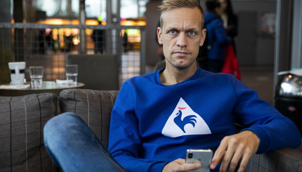 DEBATT: Mads Hansen og Mario Riera møttes til debatt på TV 2 fredag. Foto: NTB Scanpix