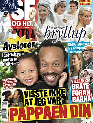 STORT INTERVJU: Det er i ukens Se og Hør Extra Siri Kristiansen lar seg intervjue. Foto: Faksimile fra Se og Hør