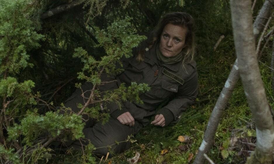 UTE: Siri Kristiansen røk ut av «Kompani Laurtizen» etter et døgn ute i skogen. Foto: Matti Bernitz/TV 2
