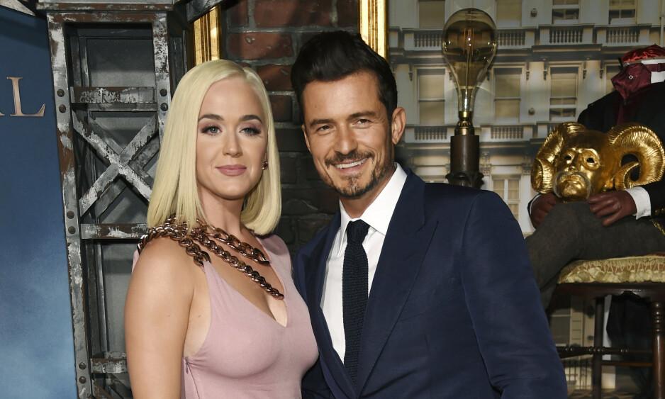BLIR FORELDRE: I mars avslørte Katy Perry og Orlando Bloom at de er i lykkelige omstendigheter. Foto: NTB Scanpix
