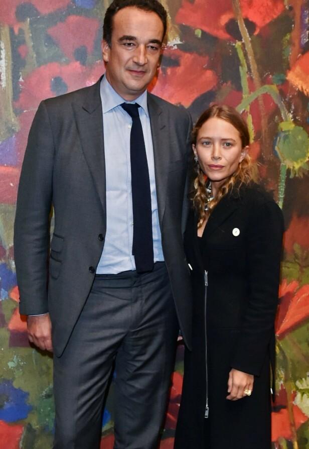 2017: Olivier Sarkozy og Mary-Kate Olsen avbildet på et arrangement i New York. Foto: Andrew H. Walker / REX