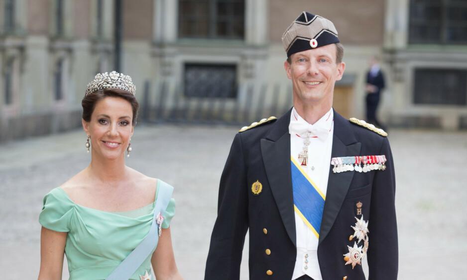 FLYTTET TILBAKE: Tidligere denne uken ble det kjent at prinsesse Marie og prins Joachim flytter tilbake til Frankrike sammen med barna. I et nytt intervju letter paret nå på sløret om fremtiden. Foto: NTB Scanpix