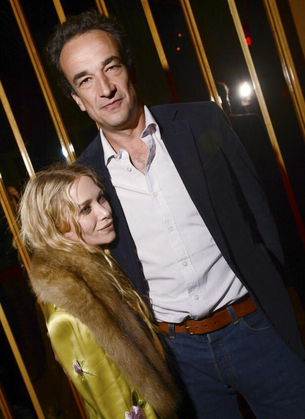 VIL SKILLE SEG: Torsdag kom nyheten om at designer og tidligere skuespiller Mary-Kate Olsen angivelig ønsket å skille seg fra sin ektemann, den 17 år eldre finansmannen Olivier Sarkozy. Foto: NTB Scanpix