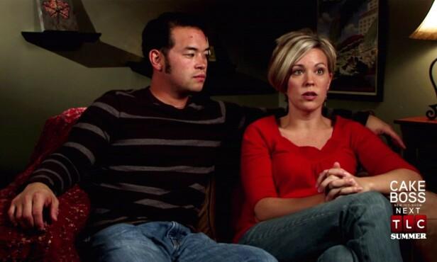 SKILTE SEG: Jon og Kate Gosselin var store stjerner som følge av TLC-programmet om familien deres. I 2009 gikk det derimot skeis for paret. Foto: NTB Scanpix