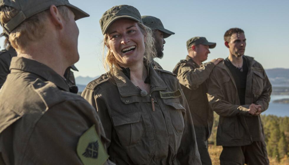 - IKKE VERST: Lise Karlsnes sier seg fornøyd med andreplassen. Foto: Matti Bernitz / TV 2