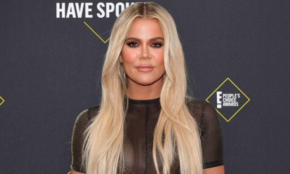 STOR ENDRING: Khloé Kardashian har gjennom store ytre forandringer de siste årene, også etter at hun har fått datteren True. Foto: NTB Scanpix