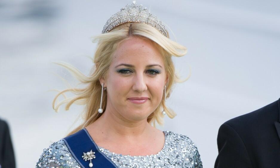 MÅ UTSETTE: Prinsesse Theodora har blitt nødt til å avlyse sitt kommende bryllup med Matthew Kumar. Her avbildet i bryllupet til prinsesse Madeleine og Chris O'Neill i 2013. Foto: NTB Scanpix