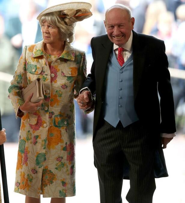 BEGGE BLE SYKE: Også Georges kone Nicola fikk påvist coronaviurset, men hun hadde ikke behov for behandling på sykehus. Foto: NTB Scanpix