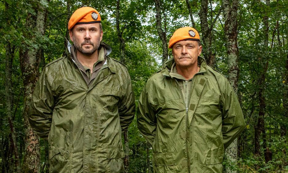 SUKSESS: Dag Otto Lauritzen (t.h.) og Kristian Ødegård (t.v.) har nok en gang gjort suksess på tv. Denne gang gjennom «Kompani Lauritzen». Foto: Matti Bernitz Pedersen / TV 2