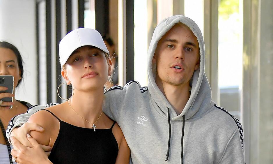 SA JA: Til høsten har Hailey og Justin Bieber vært kone og mann i to år. Foto: NTB Scanpix