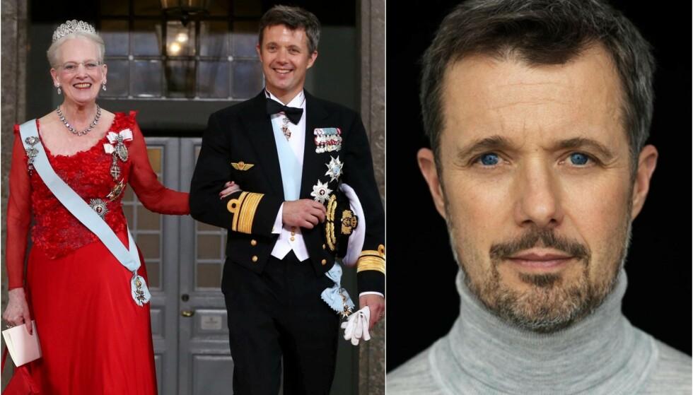 FYLLER ÅR: Kronprins Frederik fyller 52 år i dag, tirsdag, og i den anledning har kongehuset delt et nytt bilde av kronprinsen. Foto: NTB scanpix/ Steen Evald, Det danske kongehuset