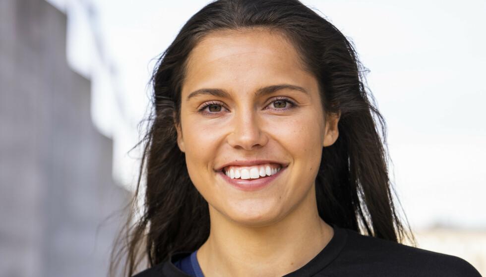 <strong>SVARER:</strong> Det er naturligvis stor interesse fra pressen rundt Amalie Iuels nye forhold. Dette sier hun. Foto: Håkon Mosvold Larsen / NTB scanpix