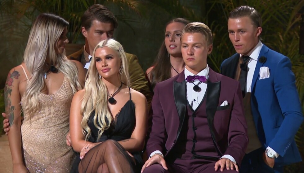 <strong>- IKKE EN KRONE:</strong> Ida Johansen Aaserud og Axel Nicolai Kleivane tapte finalen, fordi de fikk for få deltakerne bak seg. De fikk heller ikke tilgang på pengepotten. Foto: TV3