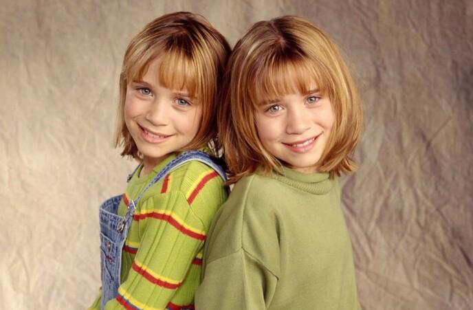 SUKSESS: Tvillingduoen ble raskt populære og var med i flere populære filmer. Foto: NTB