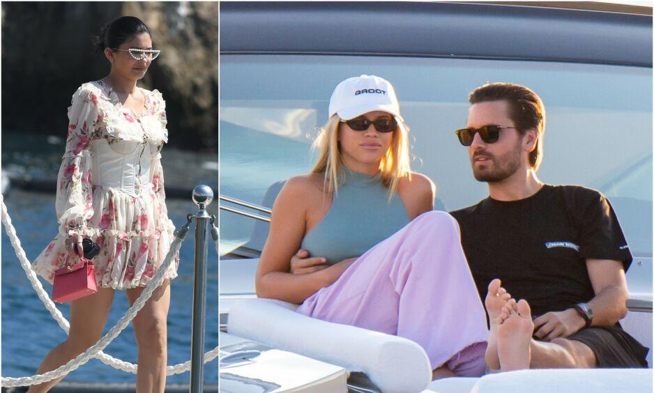 GODE VENNER: Kylie Jenner og Sofia Richie skal fortsatt være gode venner, etter at det nylig ble kjent at forholdet mellom Scott Disick og modellkjæresten tok slutt. Foto: NTB Scanpix