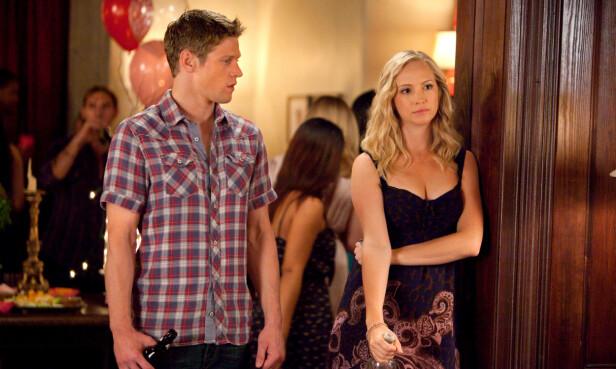 DATET: Zach Roerig skal ha datet medskuespiller Candice King i en kort periode. Foto: NTB scanpix