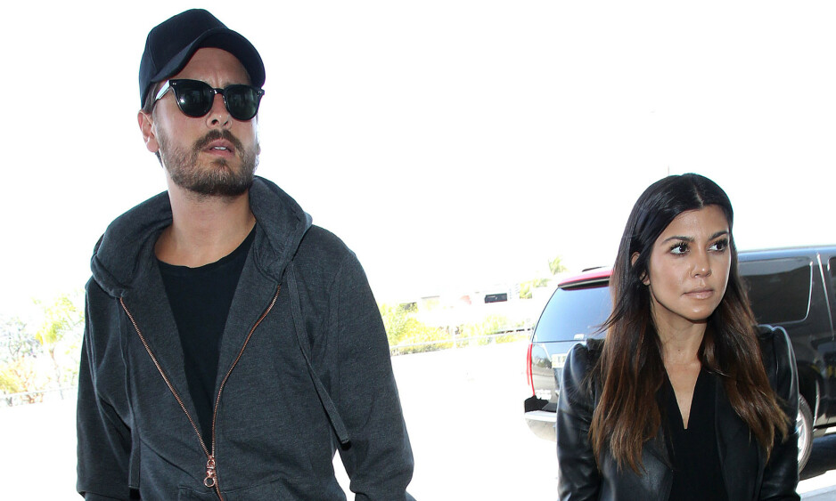 <strong>EKSKJÆRESTER:</strong> Scott Disick og Kourtney Kardashian har vært en del av hverandres liv helt siden 2006, og sammen har de tre barn. Foto: NTB Scanpix