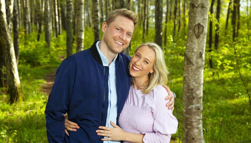 EKTEFELLER. Katarina Flatland og Harald Meling Dobloug har vært et par siden 2011 og giftet seg syv år senere. Foto: NTB Scanpix