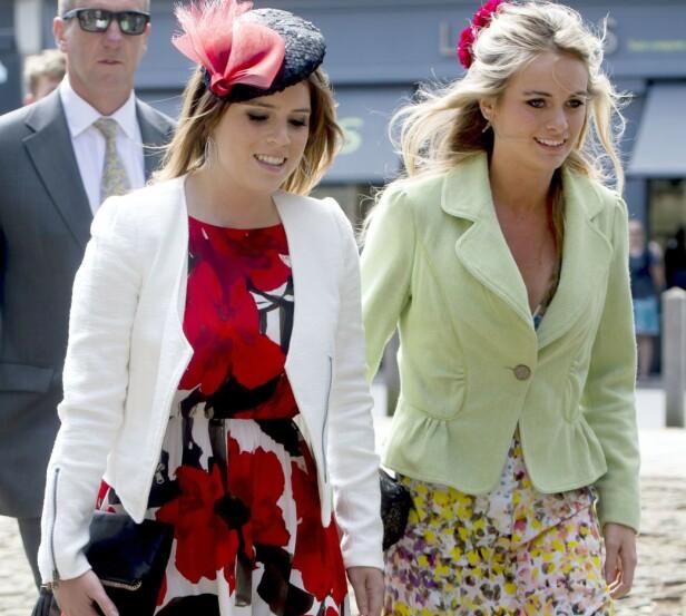 NÆRT VENNSKAP: Prinsesse Eugenie, prins Harrys kusine, introduserte ham for Cressida Bonas. Foto: NTB Scanpix