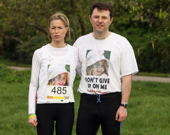 DATTEREN FORSVANT: Kate og Gerry McCann mistet datteren Madeleine da hun ble borte fra et feriested i Portugal i mai 2007. Her er foreldrene avbildet i 2011. Foto: AFP/ NTb scanpix