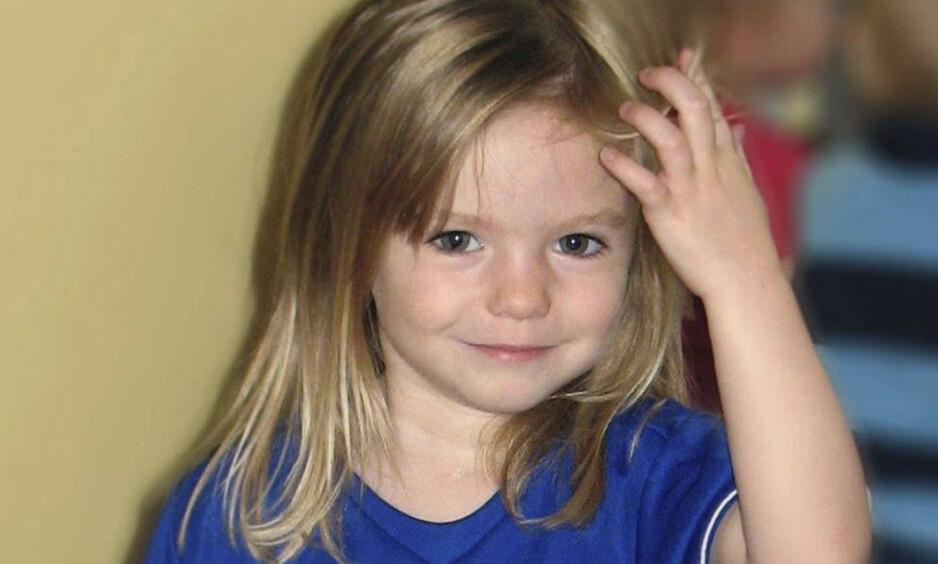FORSVANT: Madeleine McCann forsvant fra en leilighet på et portugisisk feriested kvelden 3. mai 2007, mens foreldrene var på en tapasrestaurant i nærheten med venner. Nå er det kommet noe opplysninger i saken. Foto: NTB Scanpix