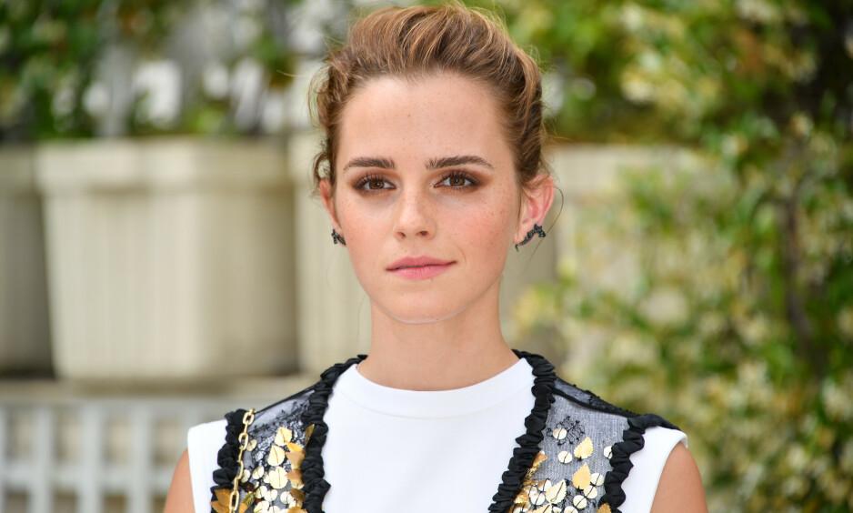 FÅR HØRE DET: Emma Watsons innlegg har skapt en rekke reaksjoner. Nå tar stjernen bladet fra munnen. Foto: NTB Scanpix
