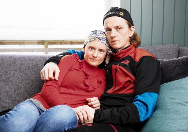 KJÆRLIGHETEN: Marthe og Jan-Kåre fikk ti år sammen. Her er de avbildet i fjor vinter. Foto: Morten Eik/Se og Hør