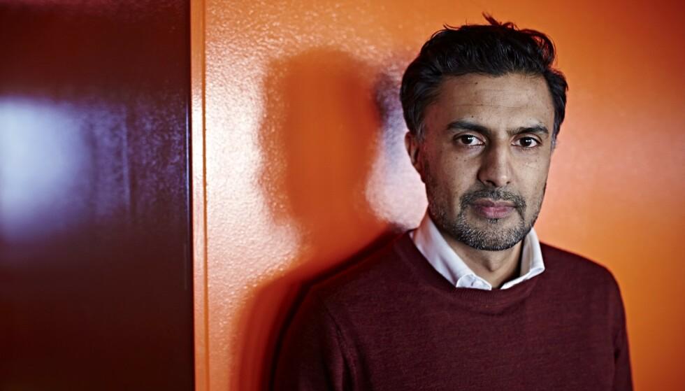 PÅ ALVOR: Zahid sier til Se og Hør at man må ta det på alvor at Durek Verrett sier at han har blitt utsatt for rasisme. Foto: Geir Dokken / Dagbladet