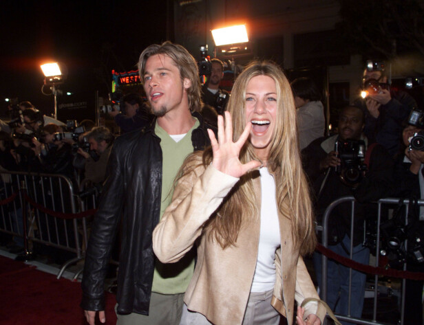 <strong>MANGE RYKTER:</strong> Selv om det er 15 år siden ekteskapet mellom Brad og Jennifer tok slutt skaper de fremdeles mange overskrifter både sammen og hver for seg. Foto: NTB Scanpix