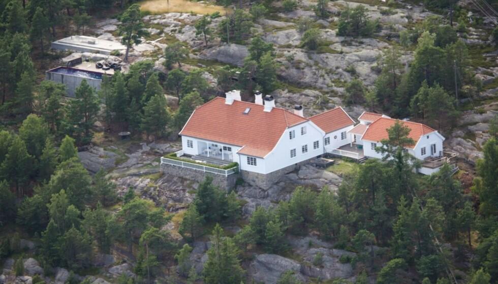 <strong>ARVEGODS:</strong> Märtha arvet flotte Bloksbjerg fra kong Olav. Foto: Se og Hør
