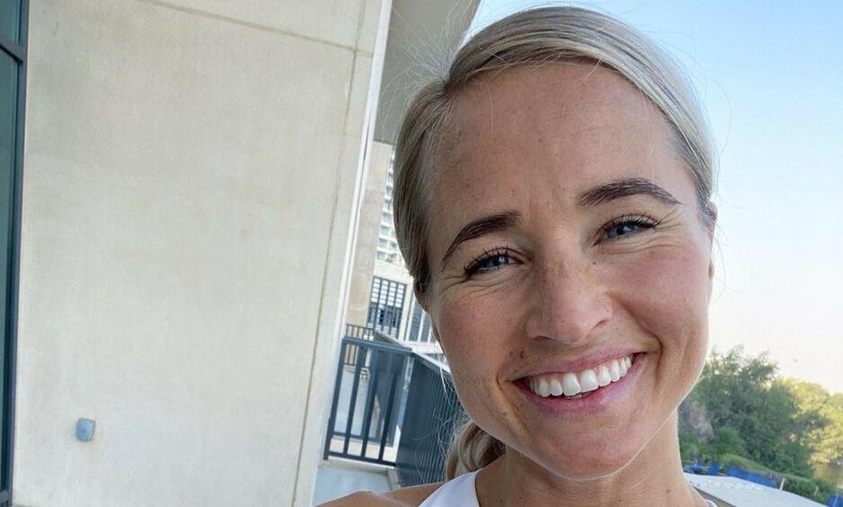 ANNERLEDES HVERDAG: Inger Houghton og familien har bodd i Dubai de siste ni årene. Nå forteller hun om tiden der. Foto: Privat