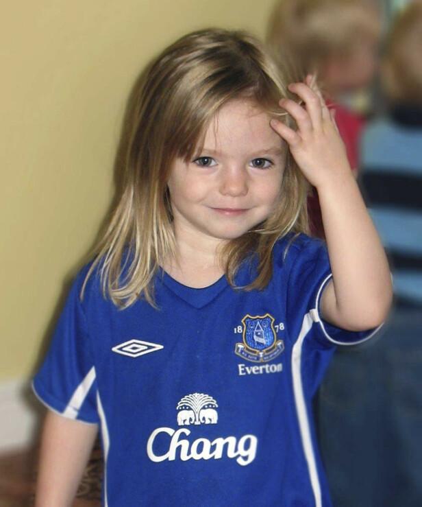 SAVNET: I 2007 forsvant Madeleine McCann på familieferie i Portugal, og har blitt en av de mest omtalte forsvinningssakene i Europa. Foto: NTB Scanpix