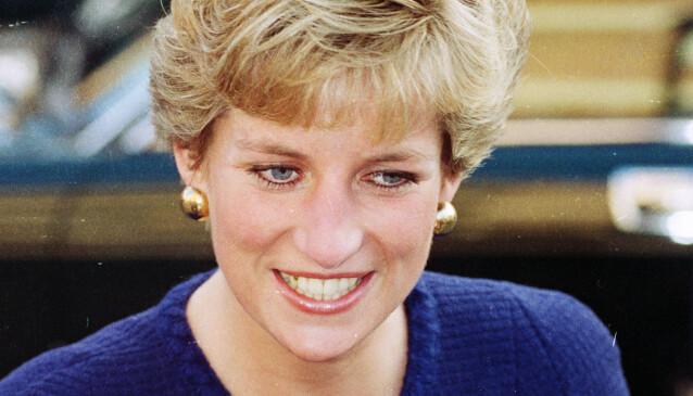 TANTE: Avdøde prinsesse Diana er tanten til Lady Amelia Spencer. Foto: NTB Scanpix