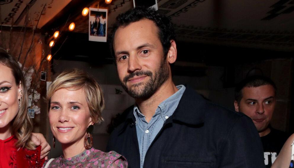 BRUKTE SURROGAT: Kristen Wiig og ektemannen Avi Rothman slet lenge med å få barn. Foto: Eric Charbonneau / REX